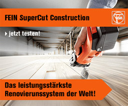 Fein Seupercut Construction